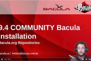 Video: 9.4 Community Bacula Installation