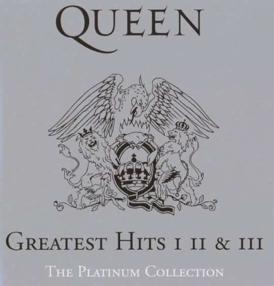 The Platinum Collection - Queen - Greatest Hits - CD Cover artwork