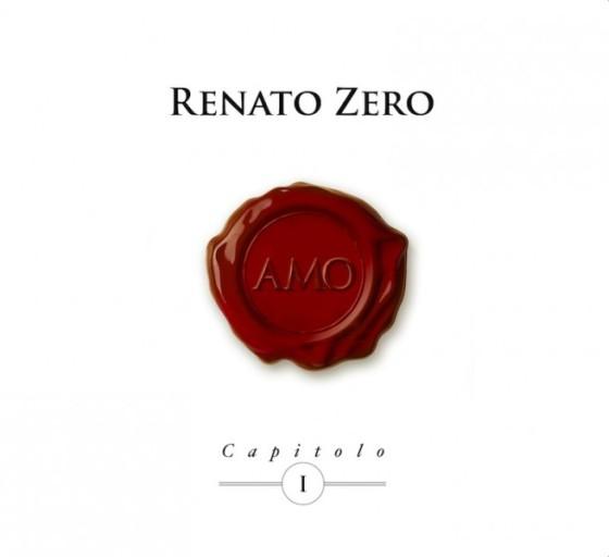 Renato Zero - Amo (Capitolo I) - Copertina disco artwork 2013