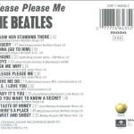 The Beatles - Please Please Me (album) - copertina album retro