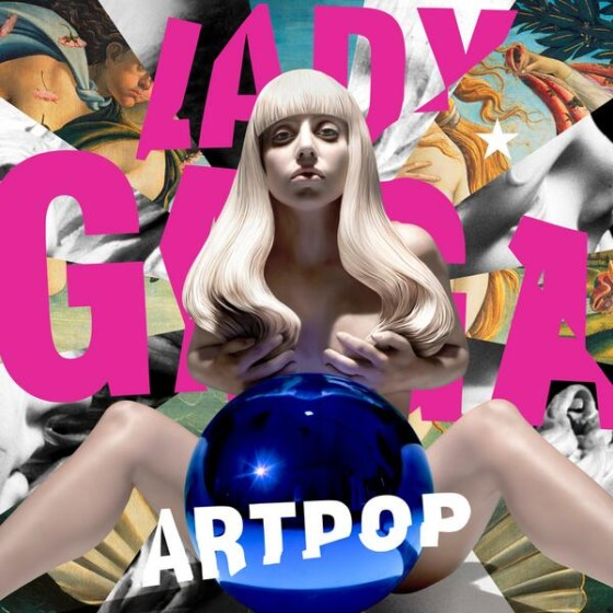 lady gaga artpop copertina cd artwork