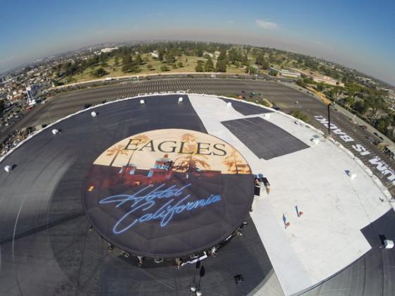 hotel california mega vinile forum los angeles