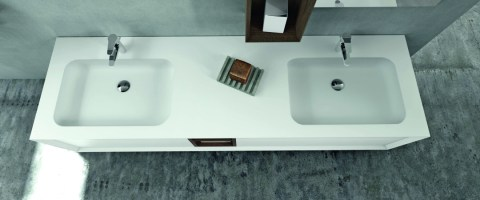 Doppelwaschbecken   Doppelwaschtische   Bad Direkt