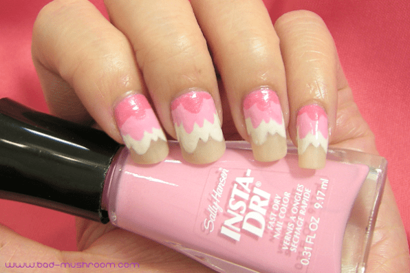 Kill la Kill's Nui Harime inspired nails