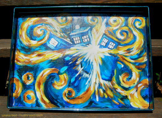 Van Gogh's exploding TARDIS from Doctor Who's The Pandorica Opens