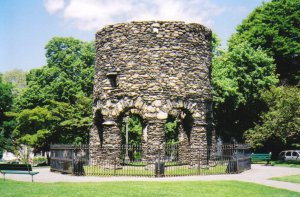 The Newport Tower, Rhode Island (USA)