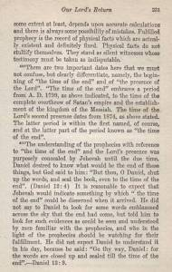 The Harp of God 1925 p. 231 Jehovah's Witnesses