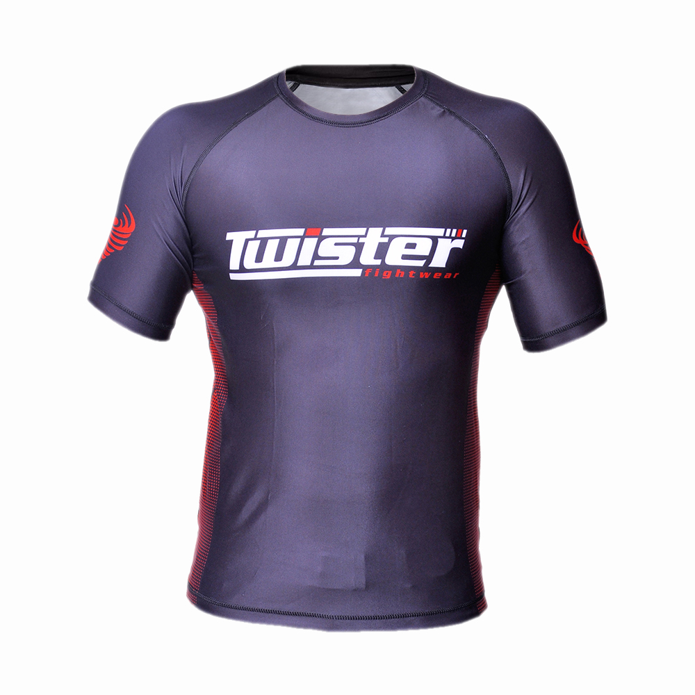 TWISTER HALF SLV 3 RASH GUARD..
