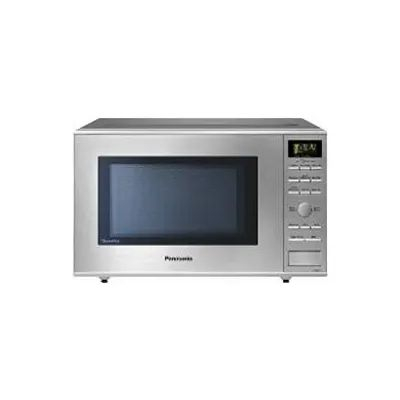 panasonic 20 inch 1 2 cu ft countertop microwave oven in stainless steel nnsd671sc