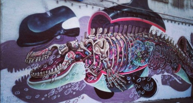 art wall grafitti