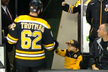 Ultra Cute Fan Fist Boston Bruins