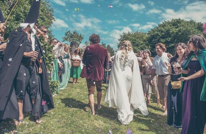 Hobbit-mad couple transform their garden into Middle Earth 4