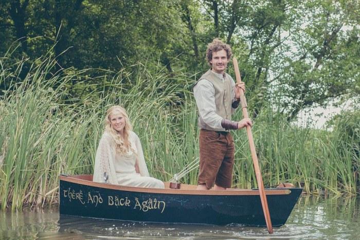 Hobbit-mad couple transform their garden into Middle Earth 5