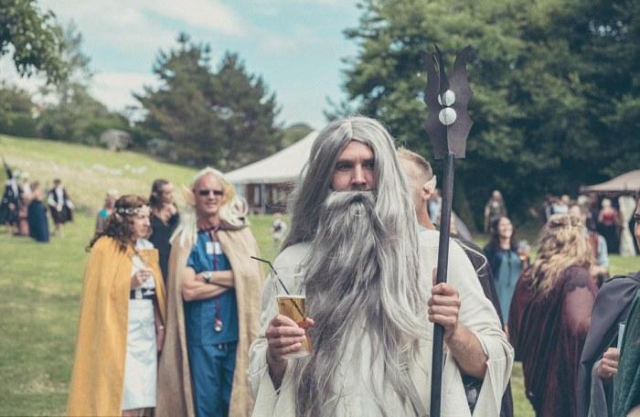Hobbit-mad couple transform their garden into Middle Earth 14