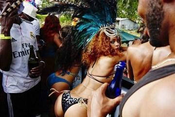 Rihanna Twerks