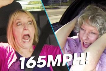 Grandmas React to Speeding in a Lambo 1