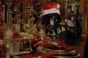 Darth Vader as Darth Santa
