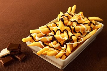 chocolate fries mcdonalds
