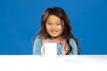 Kids Try Coffee