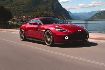 Awesome video of the Aston Martin Vanquish Zagato