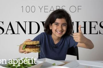 kids try sandwiches