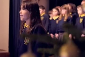 "Girl With Autism Singing ""Hallelujah"" 1"