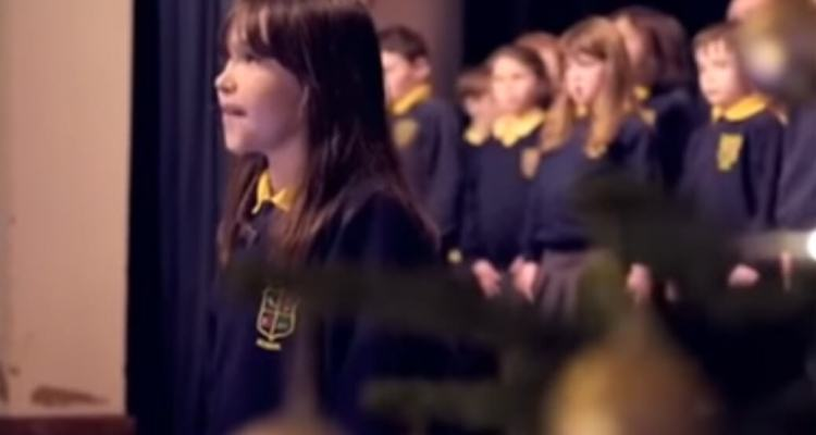 "Girl With Autism Singing ""Hallelujah"" 1"