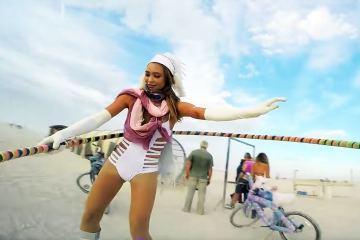 Burning Man 2016 Hula Hoop and Fire Cam 1