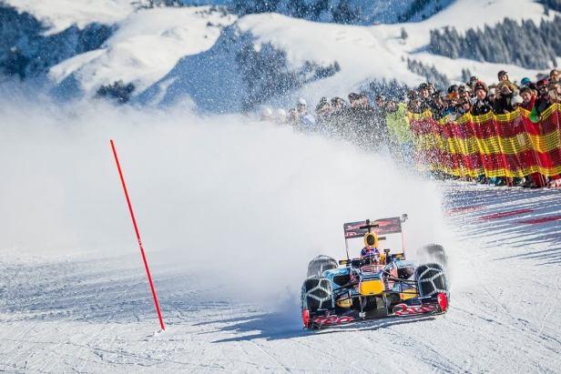 Max Verstappen Formula 1 Snow Play