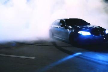 BMW M5 F10 Illegal Street Drifting