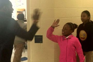 This Teacher is Awesome! Personalized Handshakes