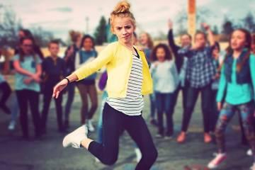 Grade School Dance Battle