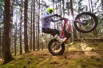 Electric Trials Fun With Fabio Wibmer