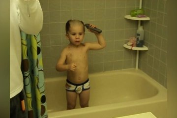 Kids Cut Their Own Hair