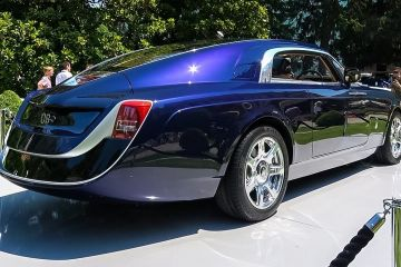 Roll royce sweptail