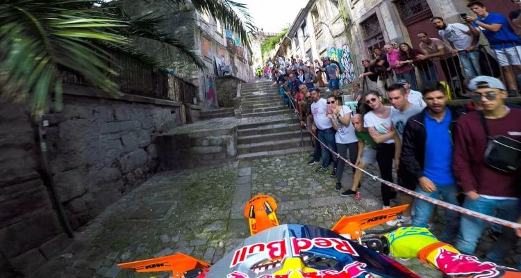 Enduro MX Racing the Back Alleys of Portugal with Jonny Walker