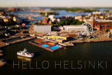 Helsinki Tilt Shift Time Lapse