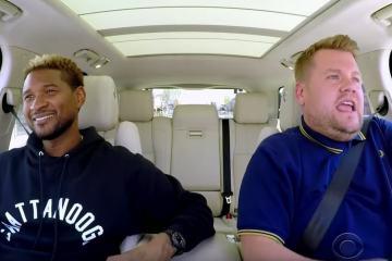 Usher in the carpool karaoke