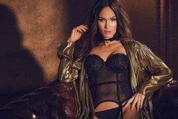 Megan fox lingerie shoot