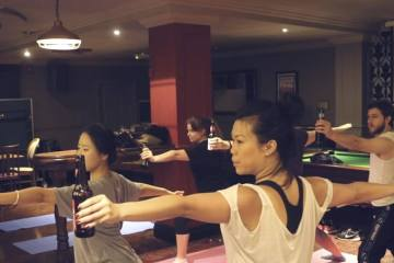 Beer Yoga is the New Thing