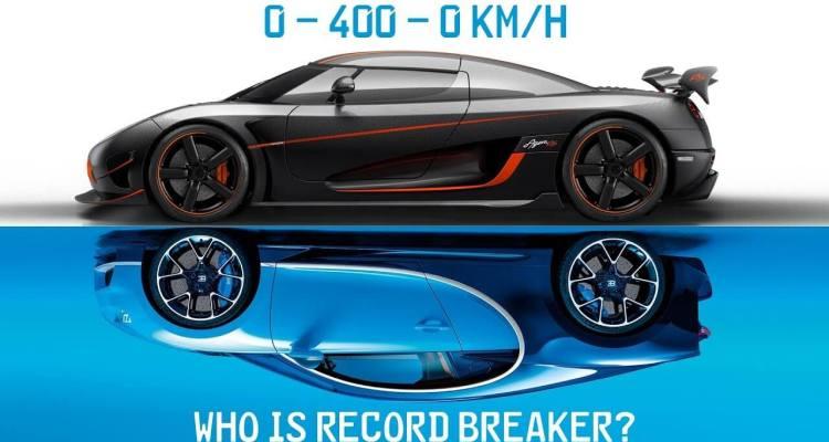 Bugatti Chiron Vs Koenigsegg Agera RS