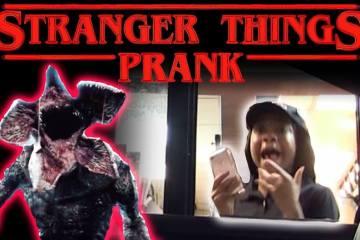 Drive Thru Stranger Things Prank! 1