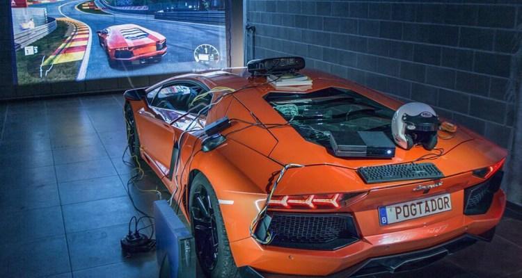POG converted his Lamborghini into an Xbox controller 3