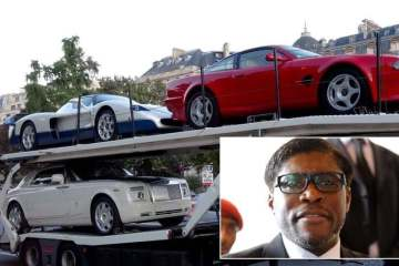 Instagram playboy is also the vice-president of Equatorial Guinea 1