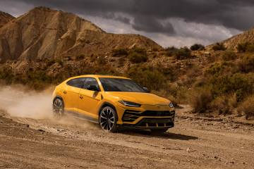 Lamborghini Presents The world's first Super Sport Utility Vehicle the Urus 1