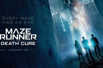 The final chapter of the Maze Runner 'The Death Cure' is Near 1