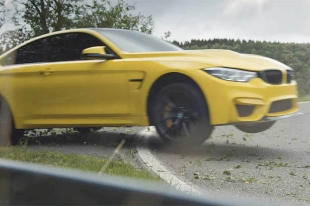 Escaping the Ring with the BMW M4 CS 1