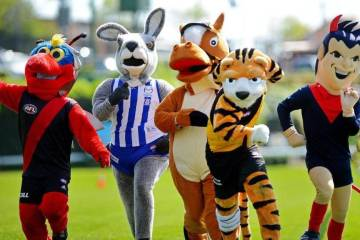 Hilarious clips of some of the Goofiest Mascots around 1
