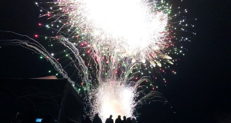 Launching An Entire Fireworks Display At Once 1
