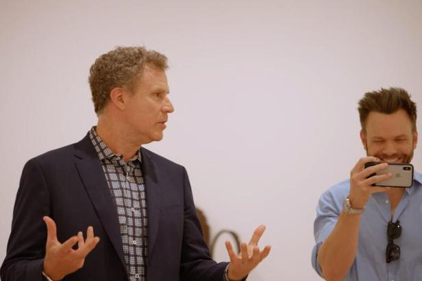 Will Ferrell and Joel McHale visit the Hammer Museum 1